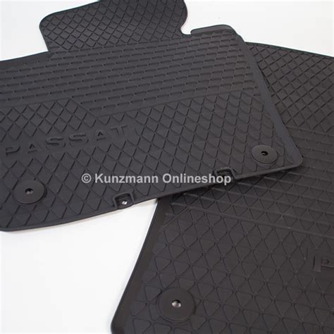 Volkswagen Mats by Volkswagen Car Rubber Floor Mats Vw Passat 3c Original Black