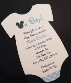 mickey mouse baby shower invitations plumegiant