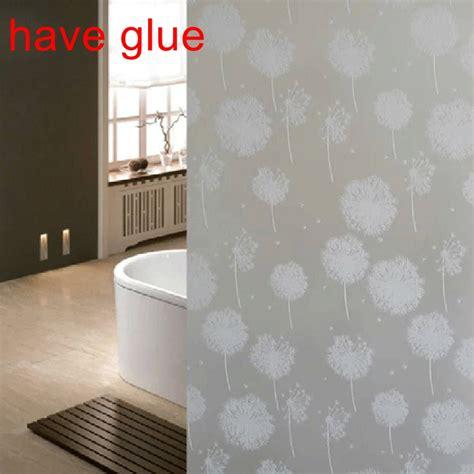frosted bathroom window film waterproof glass frosted bathroom window privacy self
