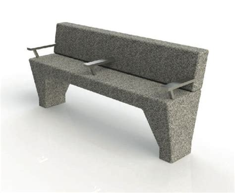 stone bench seat asf modernist granite bench seat architectural street
