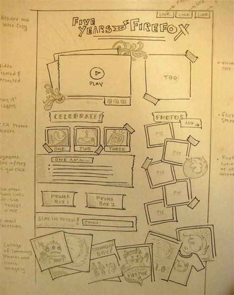 mockup design layout 18 great exles of sketched ui wireframes and mockups