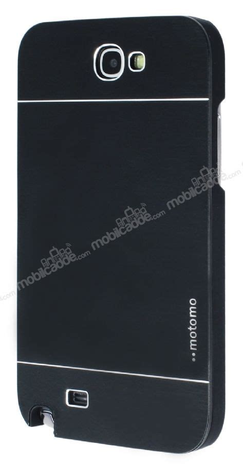 Metal Motomo Samsung 2 motomo samsung n7100 galaxy note 2 metal siyah k箟l箟f