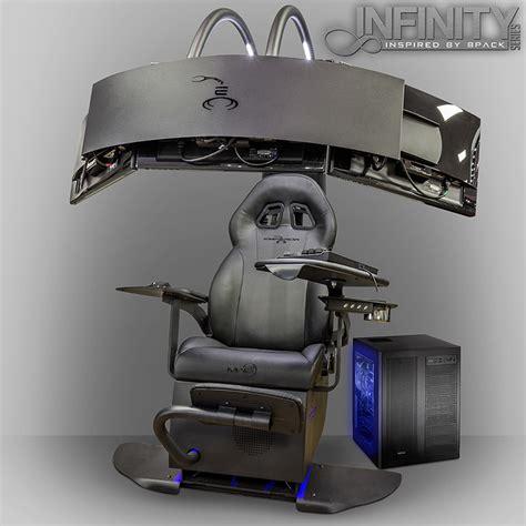 emperor computer chair gaming immersion overclockersuk launch infinity emperor