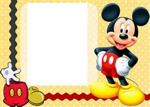Mickey Mouse Birthday Invitations Template by Invitations Template Mickey Mouse Playhouse