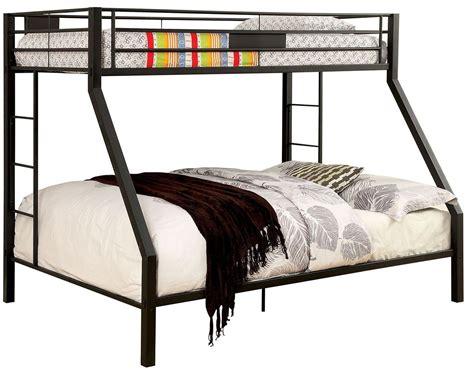 queen over twin bunk bed claren black twin over queen bunk bed cm bk939tq