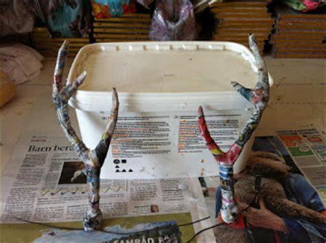 How To Make Deer Antlers Out Of Paper - asch deer antlers mud world
