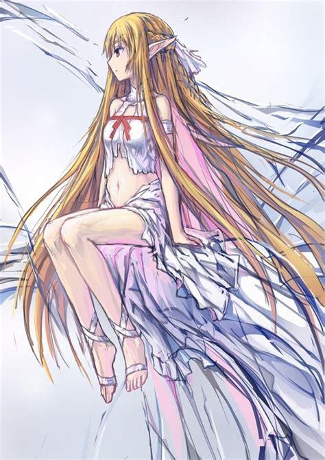 anime movil zero yuuki asuna sword mobile wallpaper 1340961