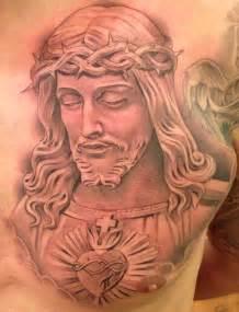 new tattoo by miguel ochoa of lowrider jesus religious