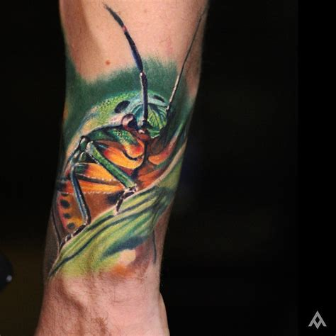 close up grasshopper tattoo best tattoo ideas gallery