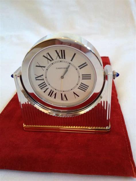 orologio da tavolo cartier must de cartier orologio da scrivania d 233 co in due