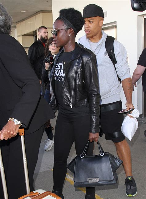 Zac Posen Lil Zac Grainy Leather Purse by The Many Bags Of Lupita Nyong O Purseblog