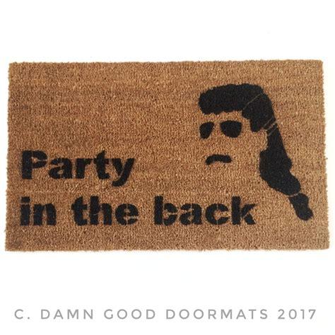 Funny Door Mats by Beware Of Chickens Fair Warning Funny Rude Doormat