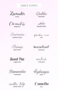 25 best ideas about tattoo fonts on pinterest script