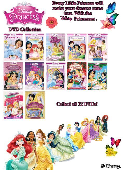 Disney Dvd Princess Stories Vol 2 disney princess dvd collection by joshuat1306 on deviantart