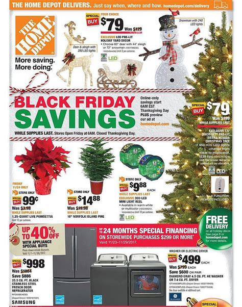 menards home improvement xmas trees home depot 2017 black friday ad