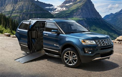 Sliding Door Suv ford unveils new explorer packages in chicago