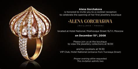 alena gorchakova joaillerie boutique gala opening