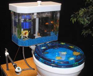 ace hardware aquarium toilet tank and aquarium combo 187 coolest gadgets