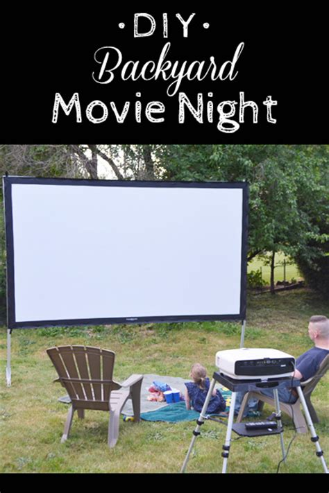 how to set up an outdoor home theater