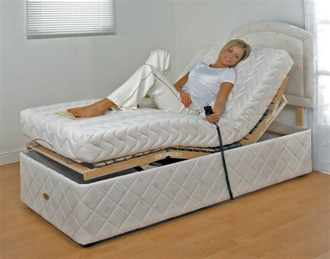 furmanac mibed 2ft6 small single electric adjustable bed by mibed