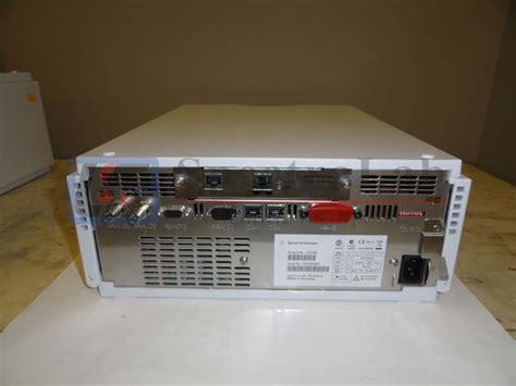 agilent 1200 series g1315b diode array detector