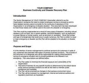 it disaster recovery plan template doc 12 disaster recovery plan templates free sle