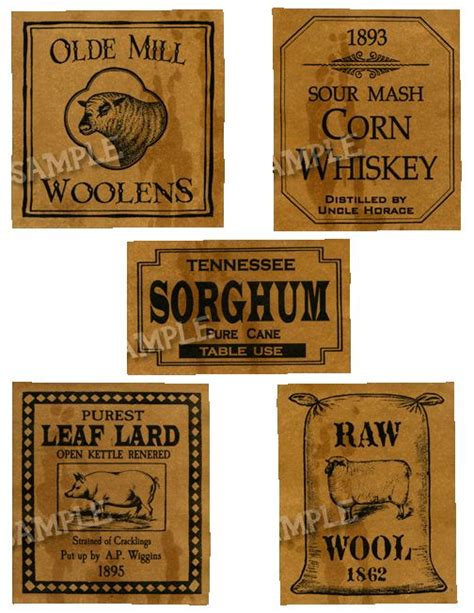 Labels For Pantry by Pantry Labels 1 Labels