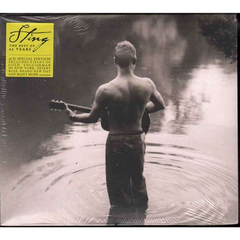 The 25 Years the best of 25 years by sting cd x 2 with e record
