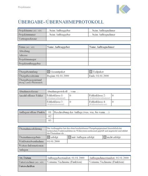 wohnungsübergabeprotokoll formular bei auszug 252 bergabeprotokoll mietwohnung bergabeprotokoll verkauf