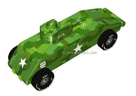 boy scout derby car templates this army tank for the pinewood derby cub scout