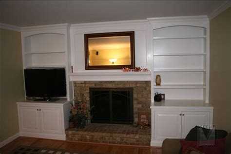 Built In Cabinets Around Fireplace by Built Ins Bookcases Continued Mitre Contracting Inc