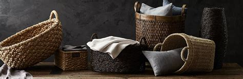 Crate And Barrel Register Gift Card - baskets wicker wire woven and rattan crate and barrel