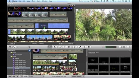 imovie tutorial import imovie basics importing editing burning video and more