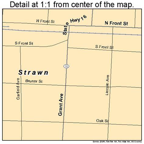 strawn texas map strawn texas map 4870580