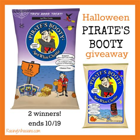 Pirates Giveaways - trick or treat with limited edition halloween pirate s booty