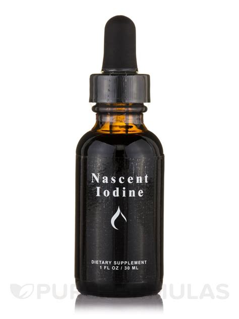 How To Detox With Iodine by Nascent Iodine 1 Fl Oz 30 Ml