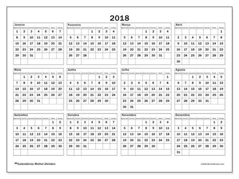 Anno 0 Calendario Livre Calend 225 Rios Para 2018 Para Imprimir Calendario