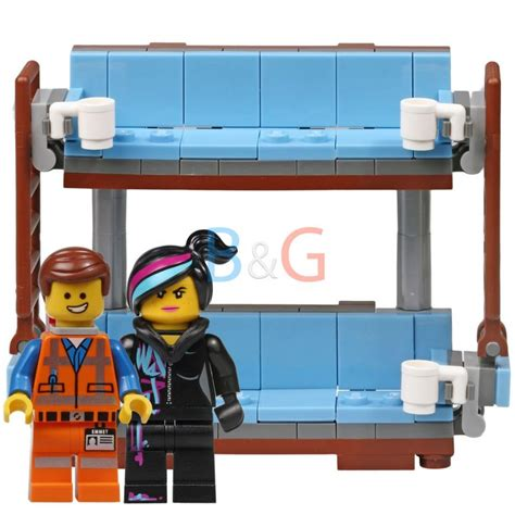 lego movie double couch the lego movie double decker couch w emmet wyldstyle