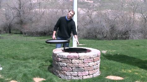 backyard pit grill diy outdoor pit grill pit design ideas