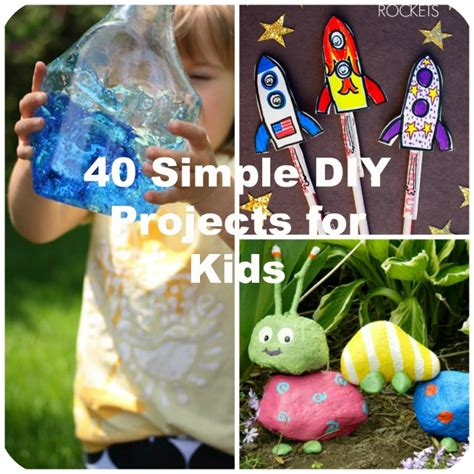 simple diy crafts for 40 simple diy projects for to make