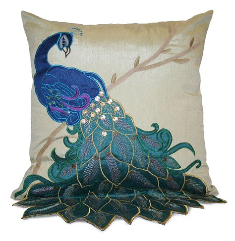 decorative bedding pillows beautiful peacock pillows and bedding sets for your home