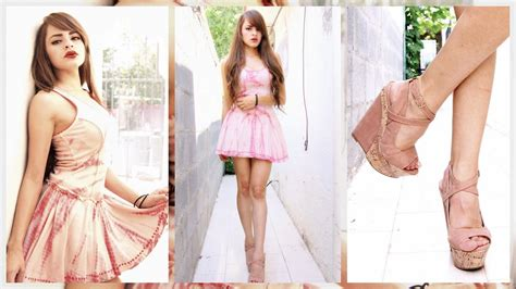 Cassi New Collection by Cassi Moon Forever 21 Pink Dress Liliana High Heels