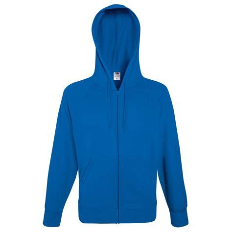 Mens Light Hoodie by Fruit Of The Loom Mens Lightweight Zip Jacket