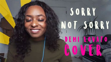 demi lovato sorry not sorry cover sorry not sorry demi lovato cover abbigayle warner