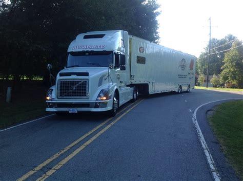 volvo tractor  feather lite trailer  sale  mooresville nc racingjunk classifieds