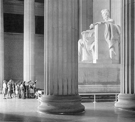 Presidents Day At The Lincoln Memorial by Lincoln Memorial Orange Marmalade