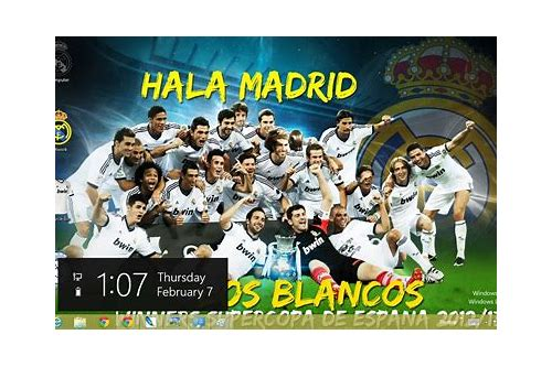 theme windows 8 real madrid herunterladen tema