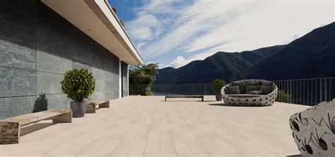 piastrelle per terrazza esterna le doghe piastrelle effetto legno per pavimentazione esterna