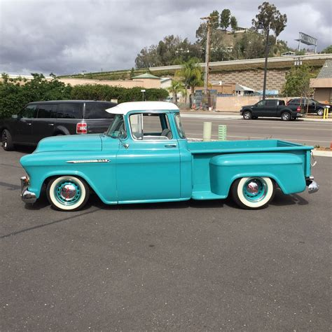 truck bed cer for sale custom 1956 chevy 1 2 ton truck for sale