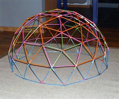 How To Make A Paper Geodesic Dome - anthony liekens net 187 misc 187 geodesic dome